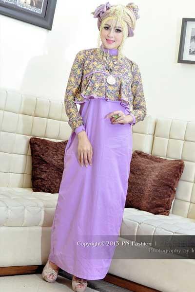 Baju Gamis Batik Ibu Hamil Gambar Baju Gamis Baju Gamis Pesta