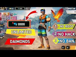 Free Fire unlimited Diamond Hacke Free Fire Diamond