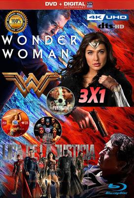 Justicia Femenina 3X1 COMBO HD DVD LATINO