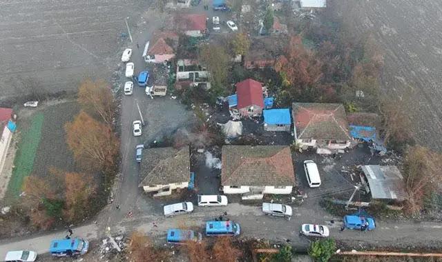 بمشاركة 150 من رجال الشرطة.. عملية ضد منظمة إجرامية في ولاية سكاريا التركية
