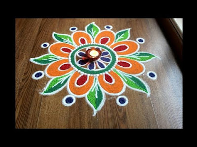NEW RANGOLI 2019 FOR DIWALI
