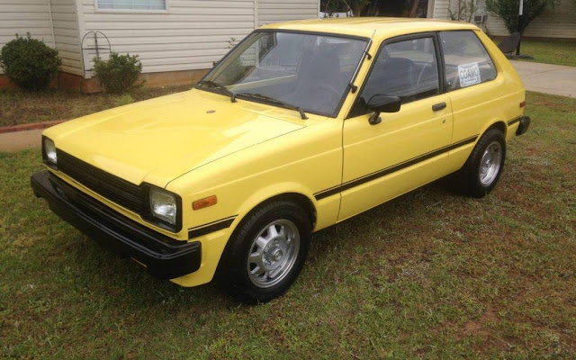 Daily Turismo: Little Yellow Different: 1981 Toyota Starlet