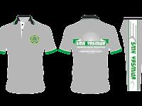 Desain Kaos Olahraga Sekolah Polo Simple