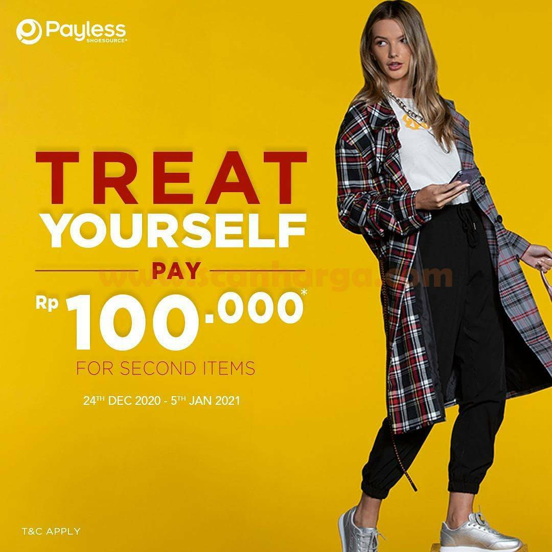 Payless Promo Treat Yourself Pay 100 For 2nd Items
