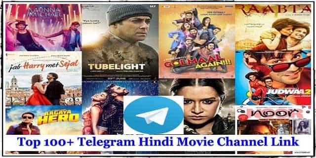 Popular 100+ Telegram Hindi Movie Channel Link - Telegram Movie Download