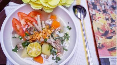 Resep Sup Ceker Ayam