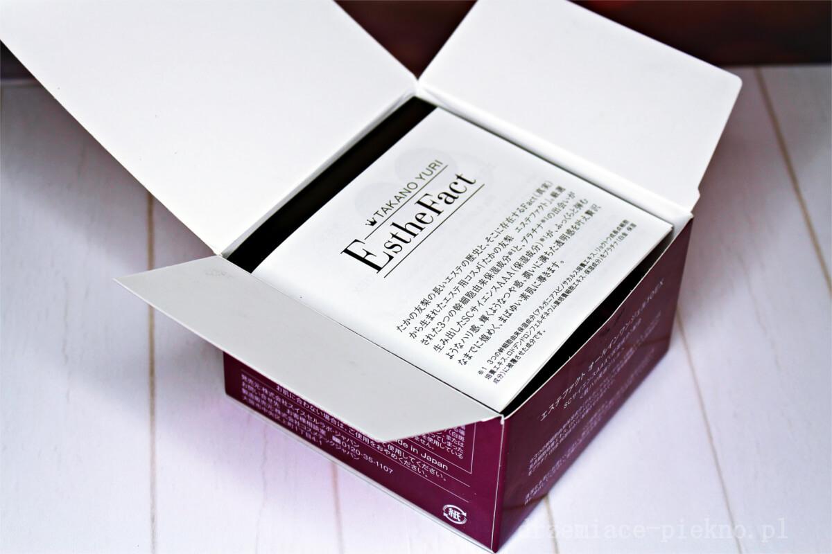 Esthe Fact All In One Gel 10 EX - Japoński żel do pielęgnacji twarzy Yuri Takano