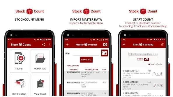 aplikasi stok barang stock count bahasa indonesia