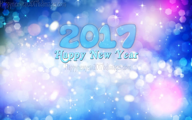 Happy New Year 2017 Sparkling Wallpapers HD Download for Desktop