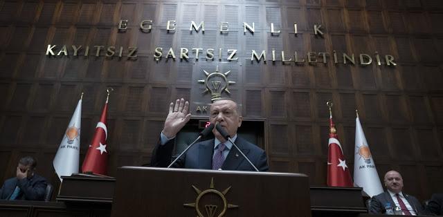 Ερντογάν: Θα κάνουμε γεωτρήσεις και σε άλλες θάλασσες εκτός από τις δικές μας