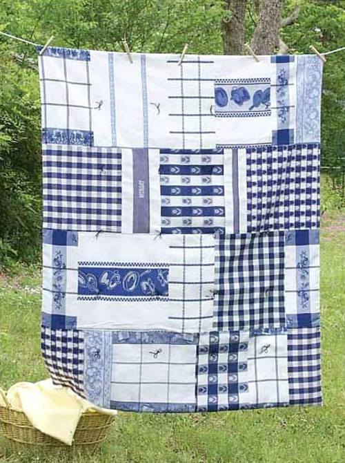 Dish Towel Throw - Free Pattern