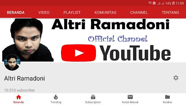 Menu komunitas youtube dan syarat subscriber