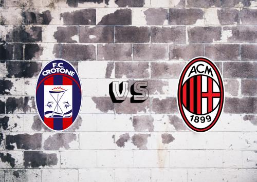 Crotone vs Milan  Resumen y Partido Completo