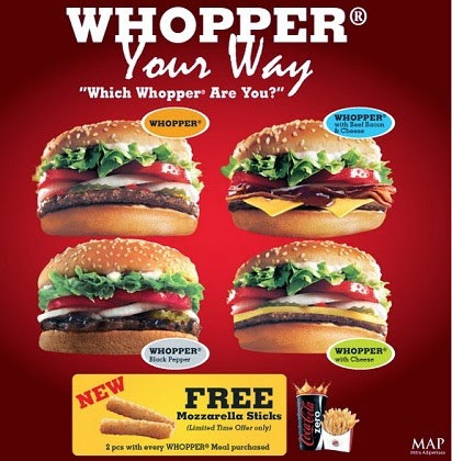2015, Burger King, Daftar Harga, Harga Menu, Harga Menu Burger King Indonesia, menu burger king delivery,