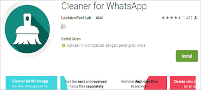 cleaner for whatsapp