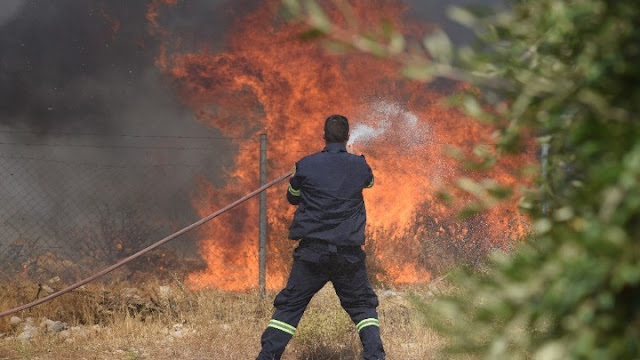 """Σε """"πορτοκαλί"""" συναγερμό για πυρκαγιές η Αργολίδα το Σάββατο 21/8"""