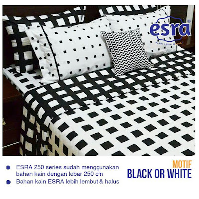 sprei dewasa Black Or White