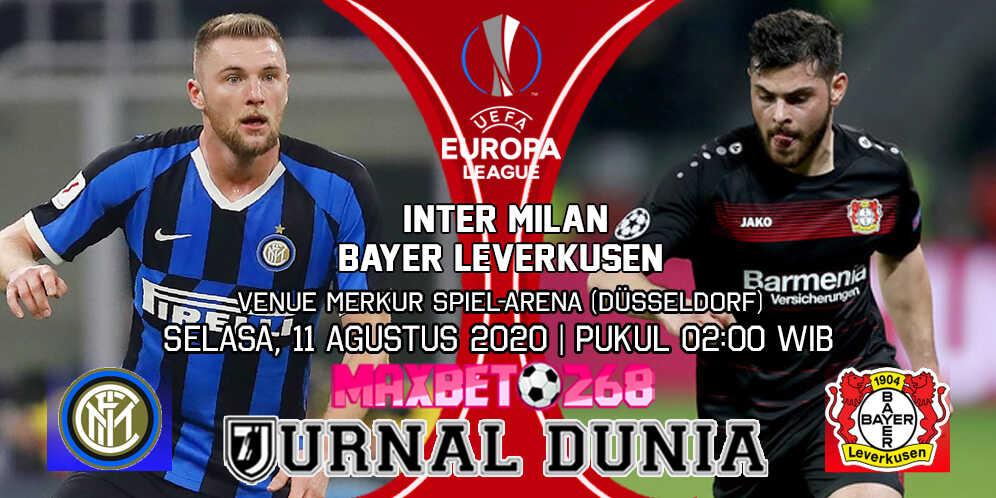 Prediksi Inter Milan vs Bayer Leverkusen 11 Agustus 2020 Pukul 02:00 WIB