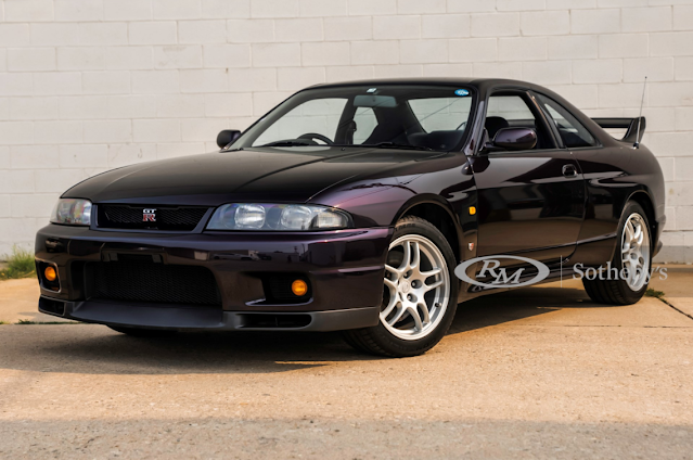 Midnight Purple 1995 Nissan Skyline GT-R sells for $235,200 at RM Sotherby's