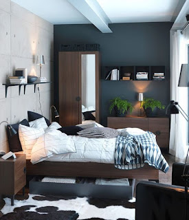 Dekorasi kamar Tidur Cowok Mewah
