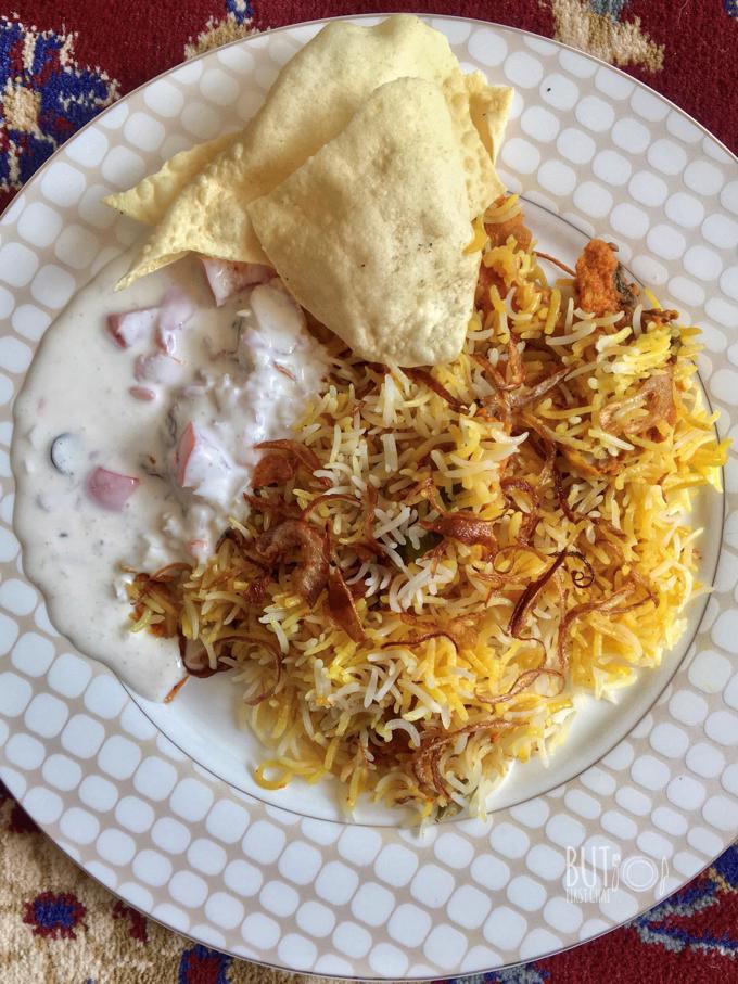 Hyderabadi Kacchi Chicken Biryani