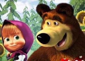 На первом месте в списке самых нежелательных к показу мультфильмов стоит «Маша и медведь»