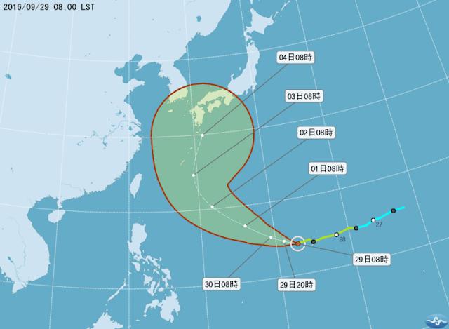 Diperkirakan Berbelok Ke Utara, Topan Susulan Tak Jadi Sambangi Taiwan