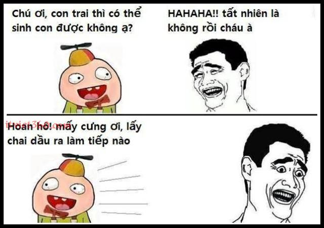 Cười Vui Lắm (VL) với những hình ảnh Facebook hài