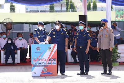 Gubernur Lampung Hadiri Upacara Pembukaan Latihan Nasional Penanggulangan Tumpahan Minyak di Laut