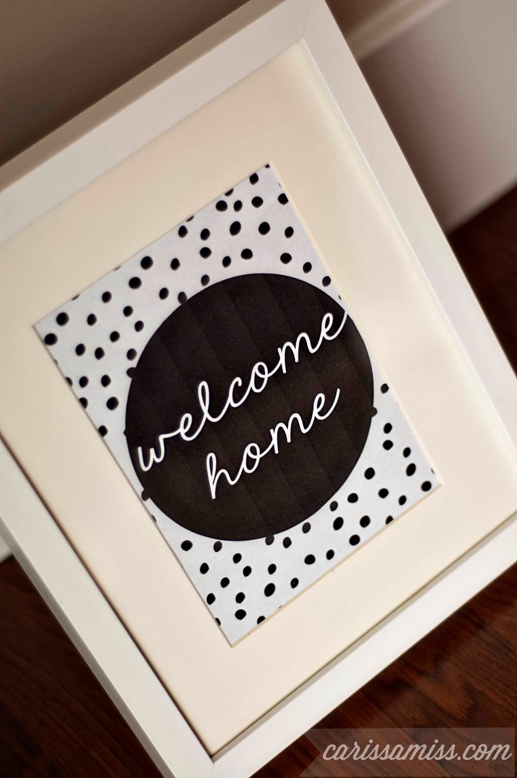 photograph regarding Welcome Home Printable titled Welcome Household\