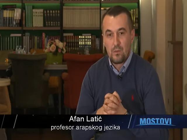 Gostovanje profesora Medrese Afana Latića na RTCG