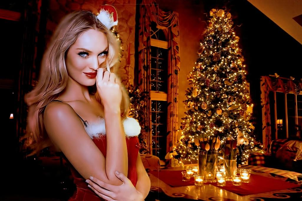 Candice Swanepoel || Christmas