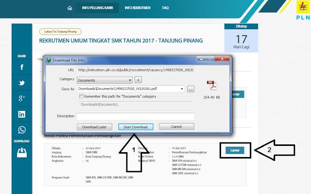 Informasi Lowongan kerja PLN untuk umum