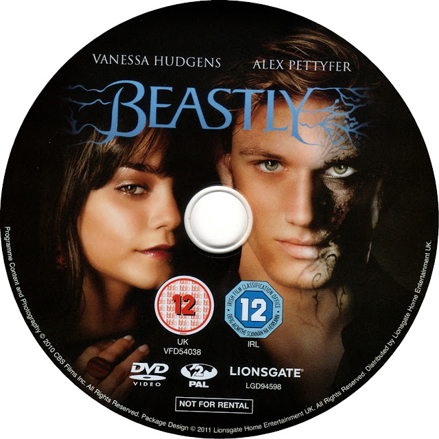 Beastly DVD Label