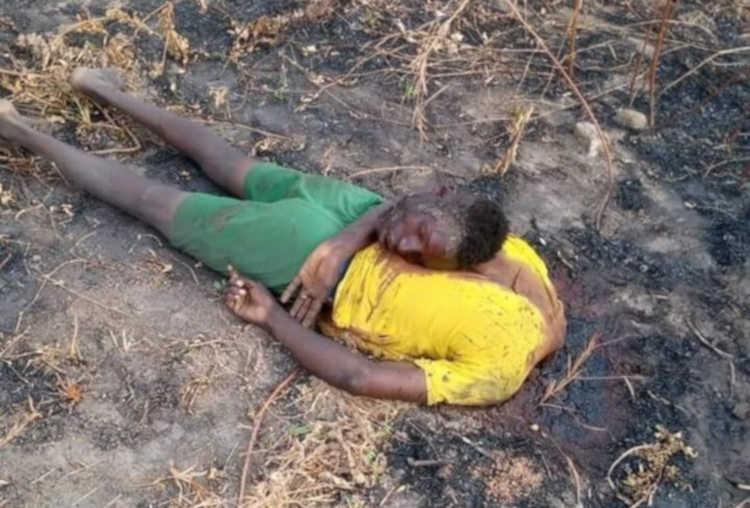 Beheaded farmers