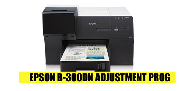 Epson B-300DN Adjustment Program