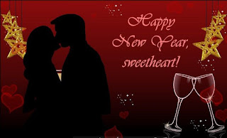 Romantic New year wishes