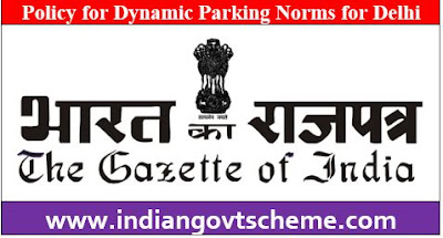 Dynamic Parking Norms for Delhi