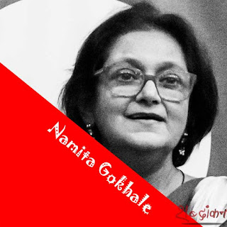 Namita Gokhale, writer, publisher and Co-director of the JLF