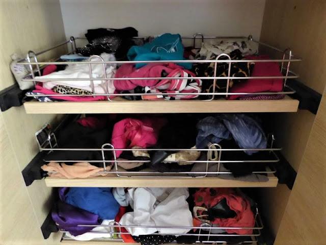 decluttering negli armadi