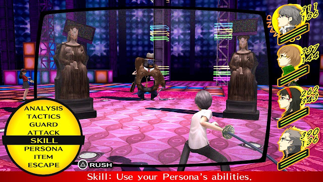Screenshot Gameplay Persona 4 Golden
