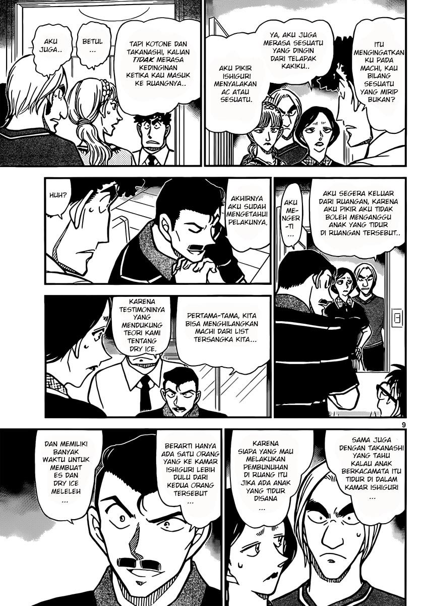 Komik Detektif Conan 827