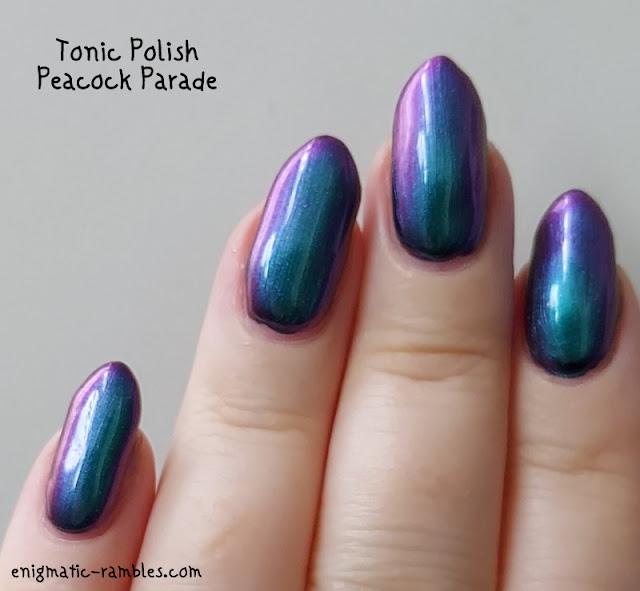 Swatch Tonic Polish Peacock Parade