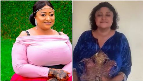 """Please Don't End Up Like Micheal Jackson"" Fans Beg Ronke Oshodi Oke Over Disturbing Weight Loss"