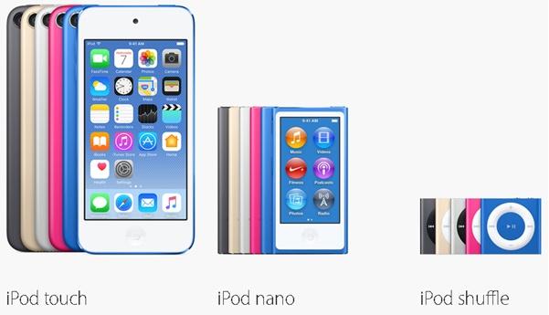 Model iPod