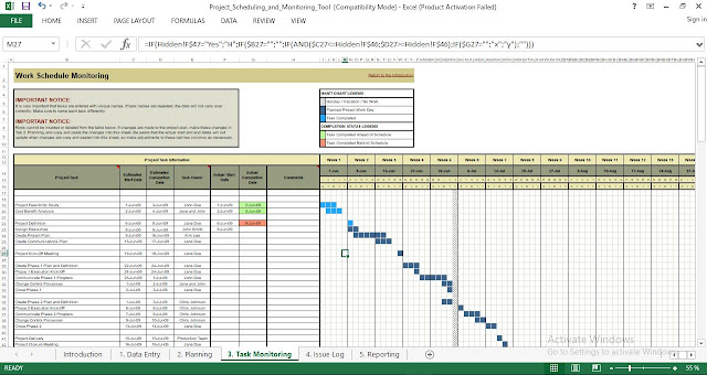 Project Planning and Monitoring Tool