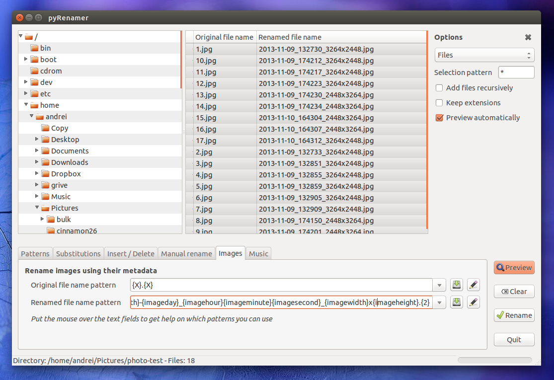 Quickly Batch Rename Files In Linux With These 3 GUI Tools ~ Web