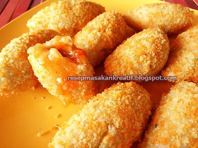 resep cireng isi moncrot yaitu gorengan crispy unik yang merupakan variasi cara bikin ci Resep Cireng Isi Moncrot Gorengan Crispy Jajanan Bandung