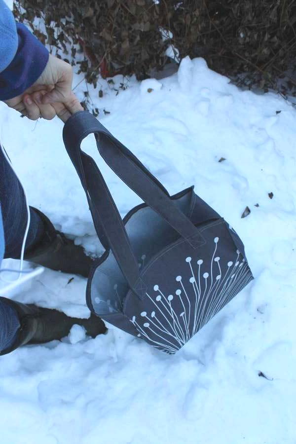 Shopping Tote bag Bag Free DIY Tutorial
