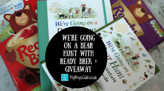 We're Going on a Bear Hunt with Ready Brek and Walker Books